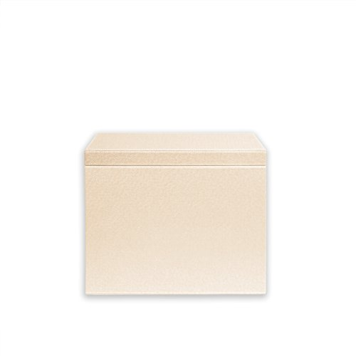 Spruce Storage Letter Hanging File Box (IVORY/ CHOCOLATE)