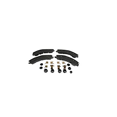 ACDelco 171-1079 GM Original Equipment Front Disc Brake Pad Kit with Brake Pads, Clips, Seals, Bushings, and Caps: Automotive