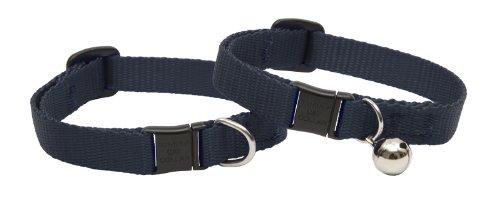 Breakaway Safety Nylon Cat Collar (LupinePet Basics 1/2