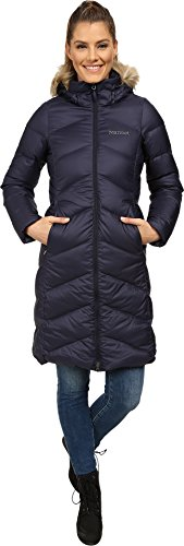 Marmot Down Coats - Marmot Womens  Montreaux Down Coat - Medium - Midnight Navy