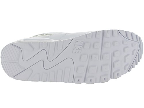 White ginnastica da NIKE Uomo Max Leather Air 90 Scarpe White XqYUrXz