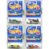 Hot Wheels Flyin' Aces Series #1-4 0f 4 (Collector #737, 738, 739, 740)
