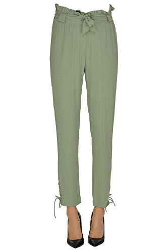 Pantaloni Viscosa Donna Verde Mcglpnp000005054e Patrizia Pepe n6Hga57x