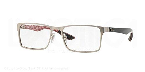 Ray-Ban Eyeglasses RX8415 2538 Matte Gunmetal 53 17 - 53 Ban Ray 17