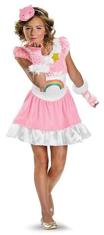 Cheer Bear Tween Costume - Medium - Morris Care Bear Costume