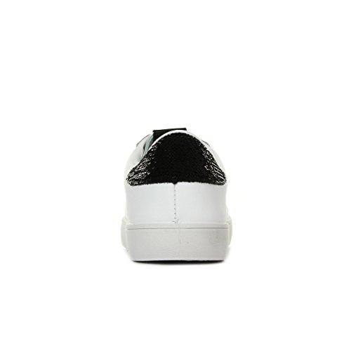 Lentejuelas Mujer 10 Negro Negro Victoria Zapatillas para Piel Deportivo wHBqxSgU
