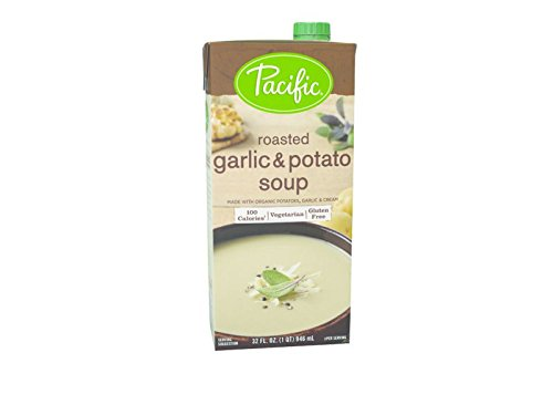 Pacific Foods Soup Roasted Garlic Potato, 32 oz by Pacific Foods