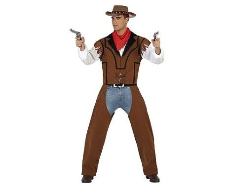 4ae354fc71 Atosa - Disfraz de vaquero para hombre
