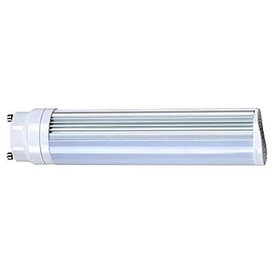 (Pack of 10) Satco S8745, 8W/H/LED/CFL/827/GU24, LED Light Bulb