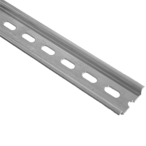 ASI PR005-1M Steel Slotted Din Rail (Pack of (1 Din Rail)