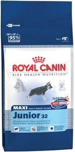 royal canin maxi junior dog food 15kg pet. Black Bedroom Furniture Sets. Home Design Ideas