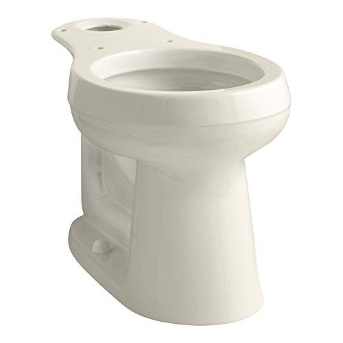KOHLER K-4347-47 Cimarron Comfort Height Round-Front Toilet Bowl, Almond