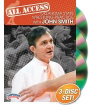 Championship Productions John Smith: All Access Oklahoma State Wrestling Practice DVD by Championship Productions
