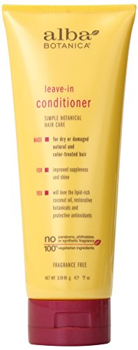 (Alba Botanica Leave-In Conditioner, 7 oz.)