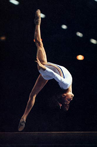 hangtao Nadia Comaneci Poster, Romanian Gymnast, Gold, for sale  Delivered anywhere in USA