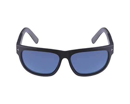 Vuarnet VL 1412 Sunglasses - Polarized Black/ Polar Blue, One - Vl Sunglasses