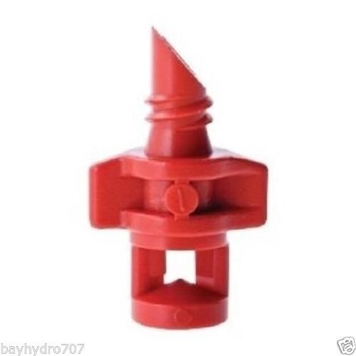 Bay Hydro RED 360 EZ Clone Spray Mister Jets Nozzle Replacement ()