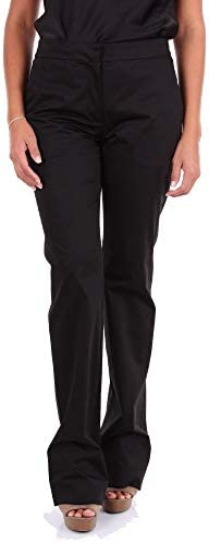 MOSCHINO Luxury Fashion Femme J032304300555 Noir Fibres Synthétiques Pantalon | Saison Outlet