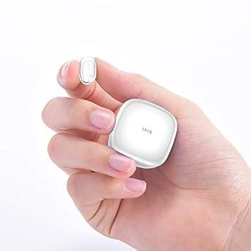 Auriculares inalámbrico, Deportes inalámbricos Auriculares Bluetooth/ Auriculares estéreo Mini Sweatproof con cancelación de Ruido y Estuche de Carga para ...