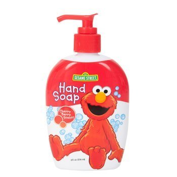 Sesame Street Liq Soap El Size 8z Sesame Street Liquid Soap Elmo 8z