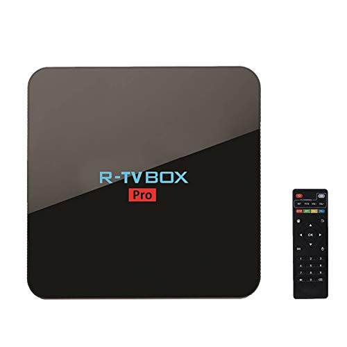 R TV BOX Android 7.1 Octa Core 3G RAM 16G ROM OTT TV Box 64 Bits Processor 3D 4K H265 Smart Set Top Box Amlogic S912 by MINGHOO
