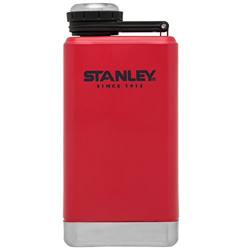 Stanley Adventure Stainless Steel Flask, Flannel Red, 5oz by Stanley