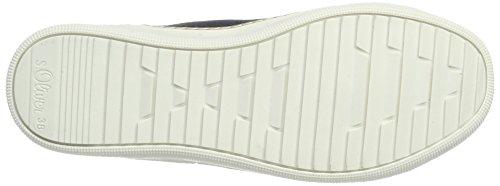 s.Oliver Damen 26207 Hohe Sneaker Blau (Navy)