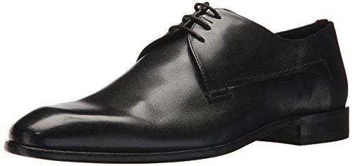 Image of HUGO by Hugo Boss Men's Appeal Derby Dress Shoe Uniform, Black, 9 D(M) US