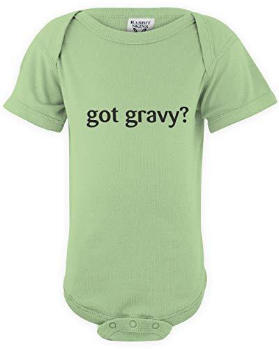 shirtloco Baby Got Gravy Infant Bodysuit, Key Lime Newborn