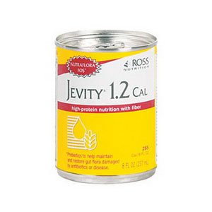 Jevity 1.2 Cal High Protein w/Fiber, Insti, 8oz. [Case of 24]