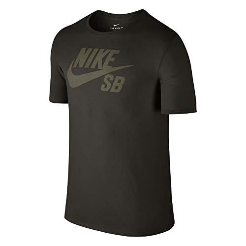 (Nike SB Icon Dri Fit Tee Black/Camo SZ Medium)