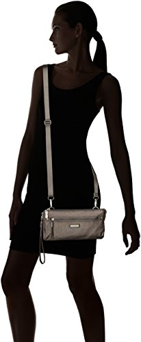 Bagg Shimmer Sterling Transit Rfid Baggallini Women's AtX46wg