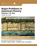 Bundle: Hist, Volume 1: Us History Through 1877 (With Coursemate Printed Access Card), 3rd + Major Problems in American History, Volume 1, 3rd + Custom Enrichment Module: Writing for College History: A Short Handbook, 3rd