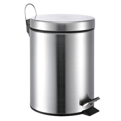 Wee's Beyond 3100-12 Stainless Steel Trash Can 12 Lt/3.5 ...