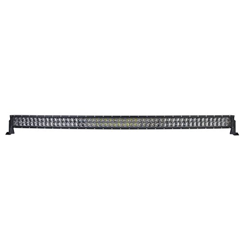 Thenese LED Light Bar 54inch 728w 4D Philips Curved Combo Spot Flood Offroad SUV AU Chop by Thenese