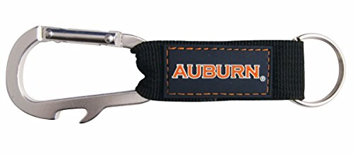 - Pro Specialties Group NCAA Auburn Tigers Carabineer Keytag, Blue, One Size