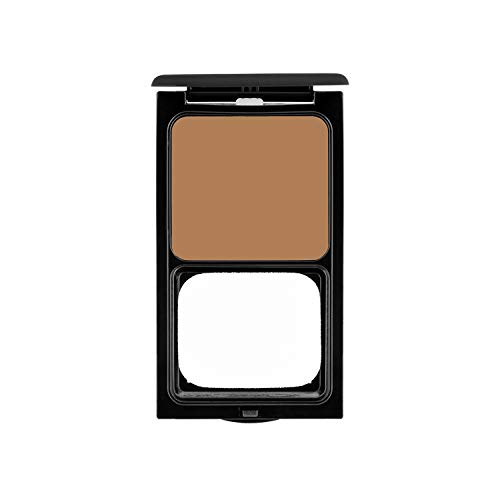 Cream to Powder Foundation Compact by Sacha Cosmetics, Best Natural Matte Makeup to give Flawless Looking Skin, Medium to Full Coverage, Normal to Oily Skin, 0.45 oz, Cocoa Beige