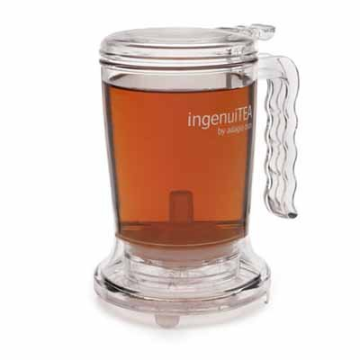 Adagio Teas 16 oz. ingenuiTEA Bottom-Dispensing Teapot from Adagio Teas