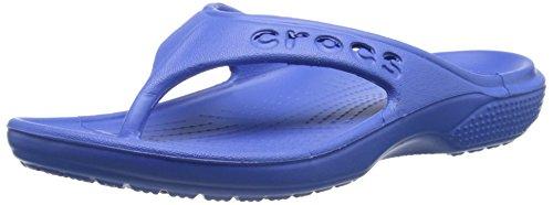crocs 12066 Baya Flip Sandal (Toddler/Little Kid),Sea Blue,12 M US Little Kid