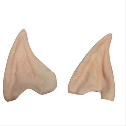 Halloween Party Cosplay Accessories Latex Soft Pointed Prosthetic Wizard Elf Fairy Hobbit Vulcan Spock Alien Costume Tips Ears