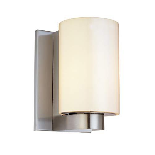 (Sonneman 3782-13 One Light Sconce, Silver)