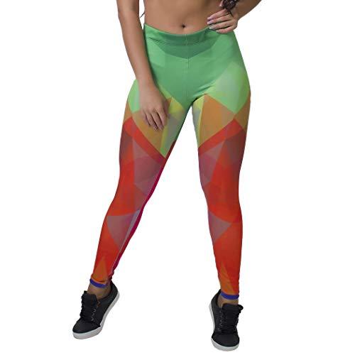 Calça Feminina Legging Sublimada Frty Color