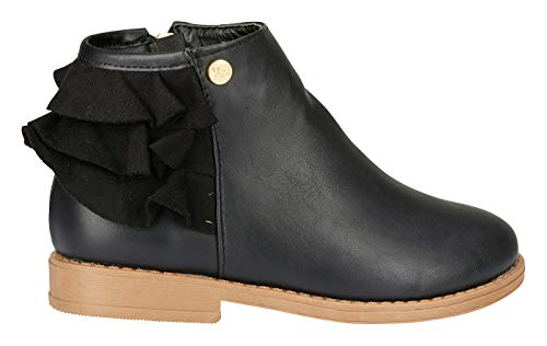Which are the best black fringe boots size 3 girls available in 2019?