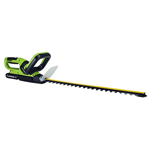 Earthwise LHT12021 Volt 20-Inch Cordless Hedge Trimmer, 2.0Ah Battery & Fast Charger Included (Hedge Earthwise Trimmer)