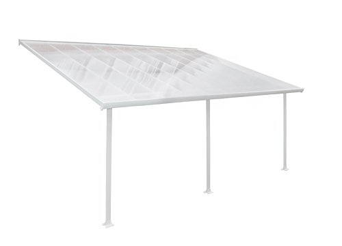 Palram Feria Carport - 13' x 20', White by Palram