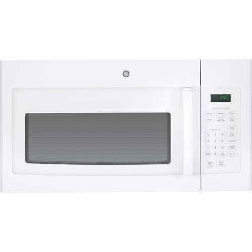 GE JVM3160DFWW White Range Microwave