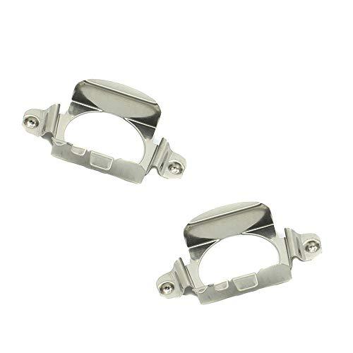 HALOYiVGO H7 LED Headlight Bulb Retainers Holder Adapter Compatible For Mercedes Benz C200 C300 C350 B260 B200 GLA200 GLA260 GL350 GL450 CHERY G5 Pentium B50 B70 Ford (2 PCS) (H7-Holder- Benz)