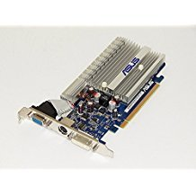 ASUS EN8400GS SILENT/HTP/512M/V2/A NVIDIA GeForce 8400GS 512MB 64-Bit GDDR2 PCI Express x16 HDCP Video Card w/DVI, D-Sub, HDTV