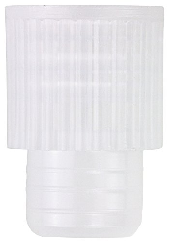 Caplugs Evergreen 300-2910-020 Test Tube Stopper Caps. 10mm, Recessed top, PE-HD, Natural