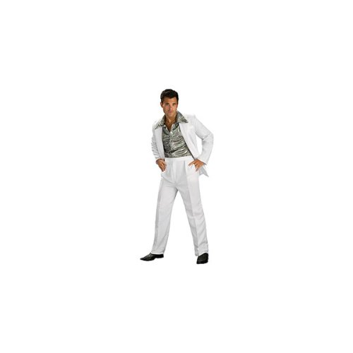 [Rubie's Costume Co. Men's Disco King, As Shown, Standard] (Guy Dance Costumes)